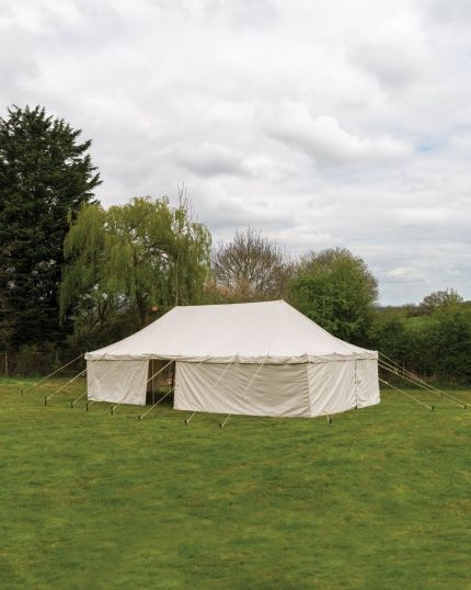 CANVAS GARDEN MARQUEE 16'X32' - 100% Cotton Canvas