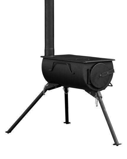 Frontier Woodburner Stove – 10kg Portable Lightweight – Slight Imperfections on Paint