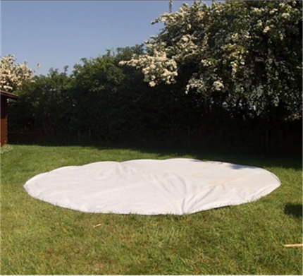 BELL TENT GROUND SHEET - 5M