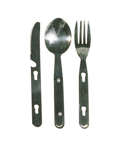 KNIFE FORK AND SPOON SET