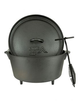 Dutch oven set 4.25 litre Carry bag and lid lifter Free delivery!