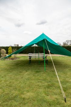 Patrol Dining Shelter 14F x 14F Scout Green – Options Available