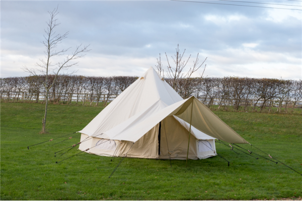 CANVAS AWNING FOR KOKOON BELL TENTS 3.6M X 2.4M