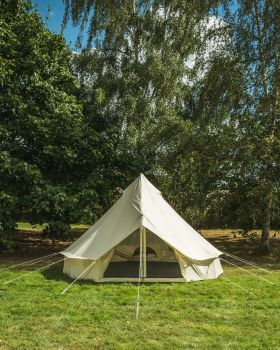 4M Bell tent Lite front
