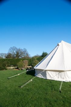 4M BELL TENT - KOKOON WITH ZIPPED IN GROUNDSHEET