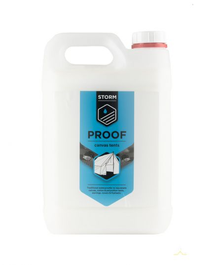 Quick-Dry Waterproofer for Canvas & Cotton Tents – Suitable for Natural & Synthetic Fabrics