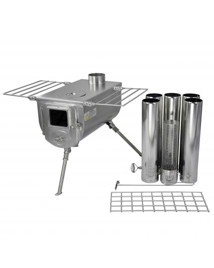Winnerwell Woodlander Wood Burning Camping Stove - Size L
