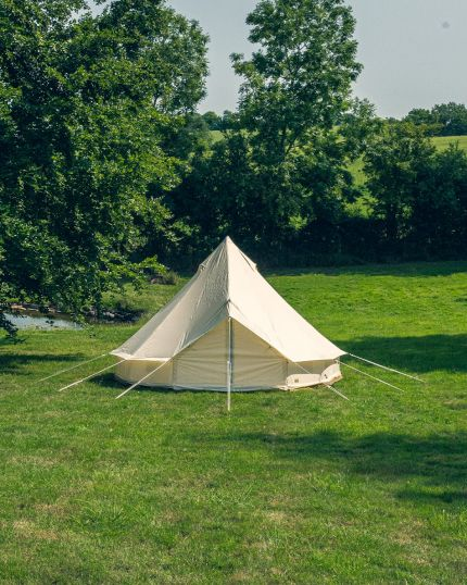 4M Bell Tent Ultra Light 14.2KG with Groundsheet & Oxford Fabric - No Mould or Mildew