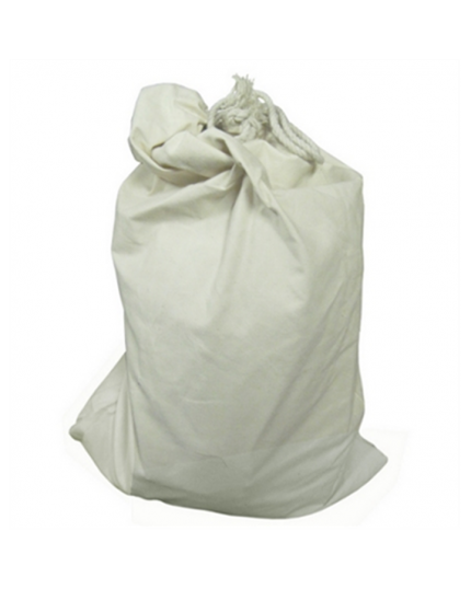 Canvas Peg Bag – Holds 25 Pegs – White