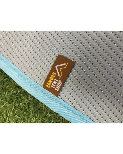 Polypropylene Matting for 4M & 5M Bell Tents – Full & Half Moon - Arctic Grey