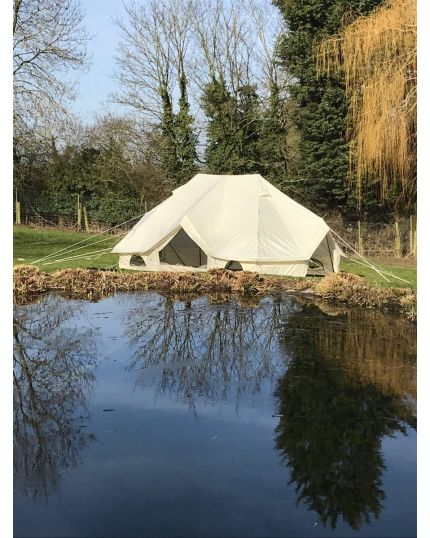 Meadow Tent 6M x 4M Fits 3 Double Beds with Oxford Fabric - No Mould or Mildew