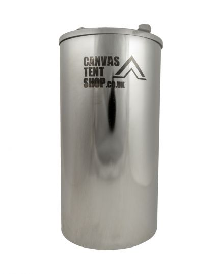 Bushcraft and Frontier Water Tank Heater 3 Litre - Stainless Steel