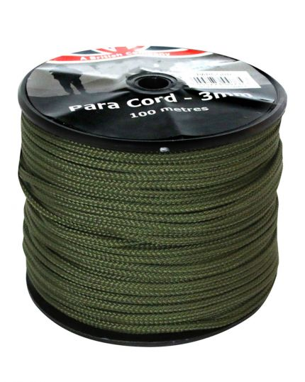 Para Cord Reel Green 3mm – 100M