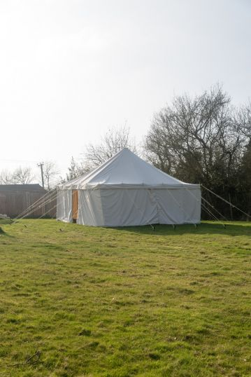 Canvas Marquee for Gardens 16F x 16F Waterproof with 100% Cotton Canvas