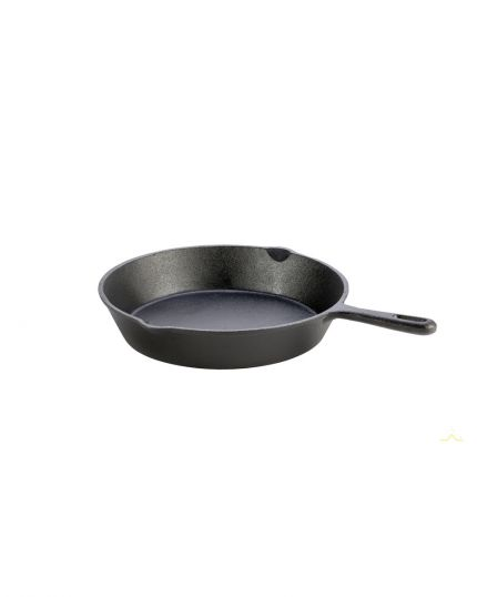 "Frying Pan & Skillet Cast Iron 10"" – For Hobs Stoves & BBQs"