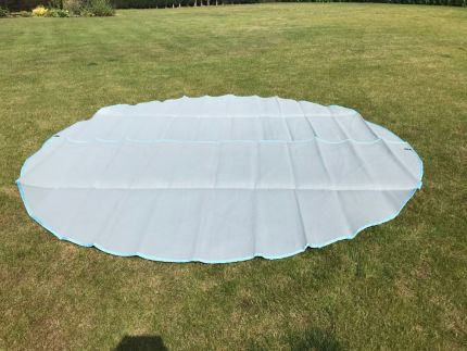 Polypropylene Matting for 3M - 6M Bell Tents – Full & Half Moon – Arctic Grey