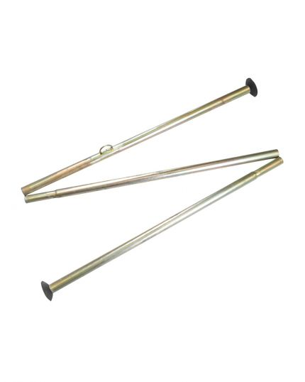 Bell Tent Metal Pole Set for 5m Bell Tent - Centre pole & A-Frame pole
