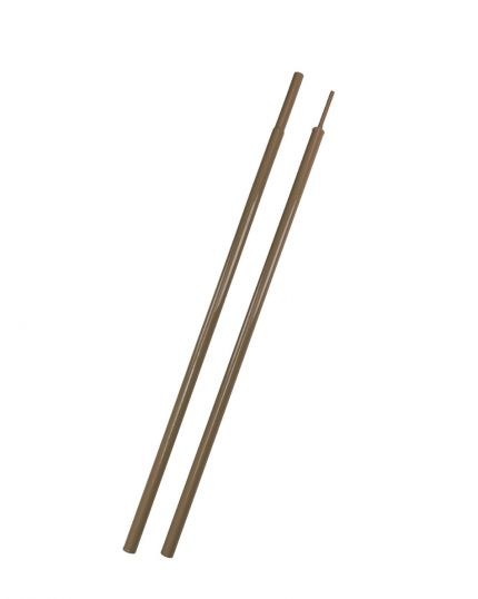 7F Upright Pole for Patrol Tents – Brown