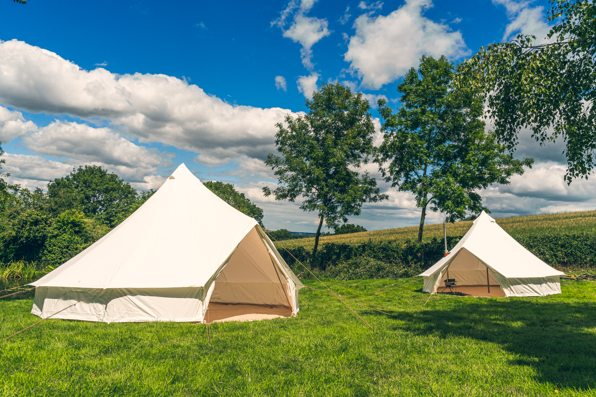 Which one of our Bell tents is right for you?